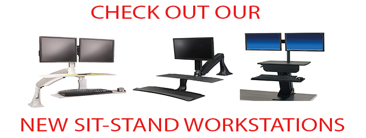 NEW SIT STAND WORKSTATIONS