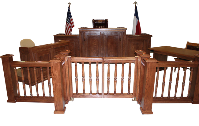 TCI - Furniture - Chairs & Seating - Courtroom