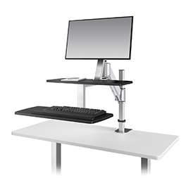 Ergorise Climb1 sit and stand workstation