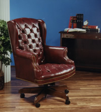 tufted leather executive office chair. Tufted Leather Executive Office Chair U