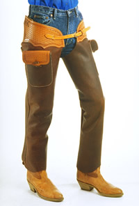 Tci Garment Textile Leather Goods Shotgun Chaps