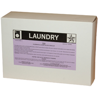 D.L.B. Dry Laundry Bleach. Color: White to off white. Odor: Strong chlorine odor.