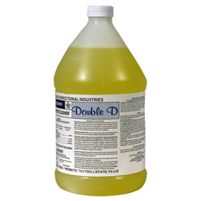 Double-D Disinfectant Detergent. Color: Light clear straw-orange. Odor: mild.