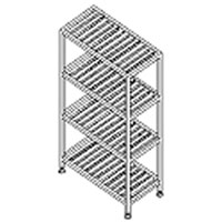Aluminum Storage Shelving