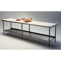 Mobile Butcher Table w/ Polybrite® Top