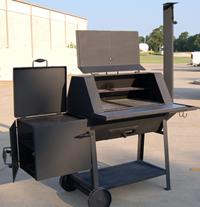 Tci Metal Park Equipment Bbq Smoker Grill