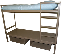 Double Floor Mounted Bunk